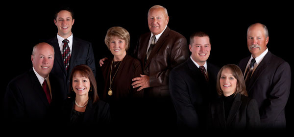 The Stevenson Family - Todd, Terri, and TJ, Marlene and Dale, Scott, Patty and Joe Stevenson